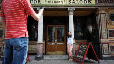 linen quarter crown liquor saloon