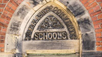 linen quarter st malachys convent door