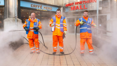 Linen Quarter Clean Team
