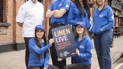 LINEN LIVE IS LAUNCHED
