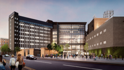Illustrations show BBC Redevelopment