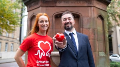 World Heart Day celebrated in the heart of Belfast
