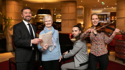 Belfast Music Society's International Festival of Chamber Music 2020 is launched in LQ