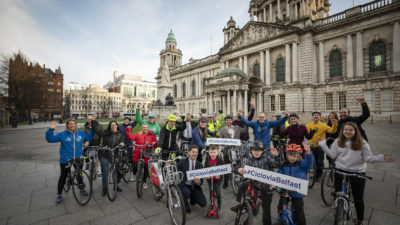 Ciclovia Belfast group shot