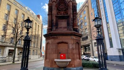 Thomas Thompson Fountain Clean Up Goes Ahead