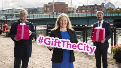 #GiftTheCity