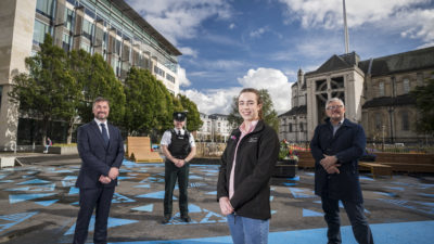 Police on the Beat on Belfast's Streets for 2nd Year Running